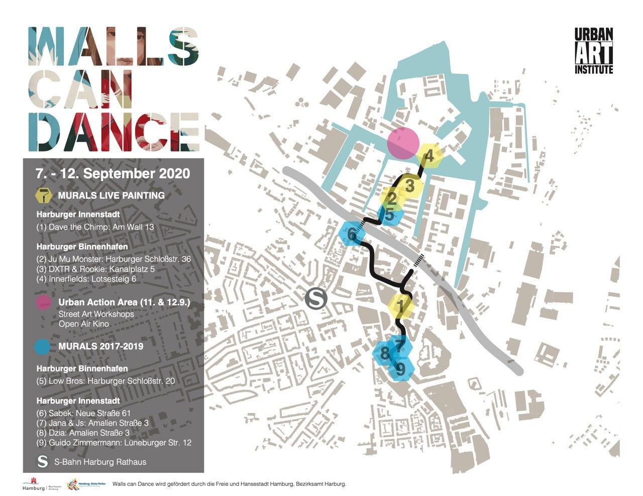 Walls Can Dance Karte