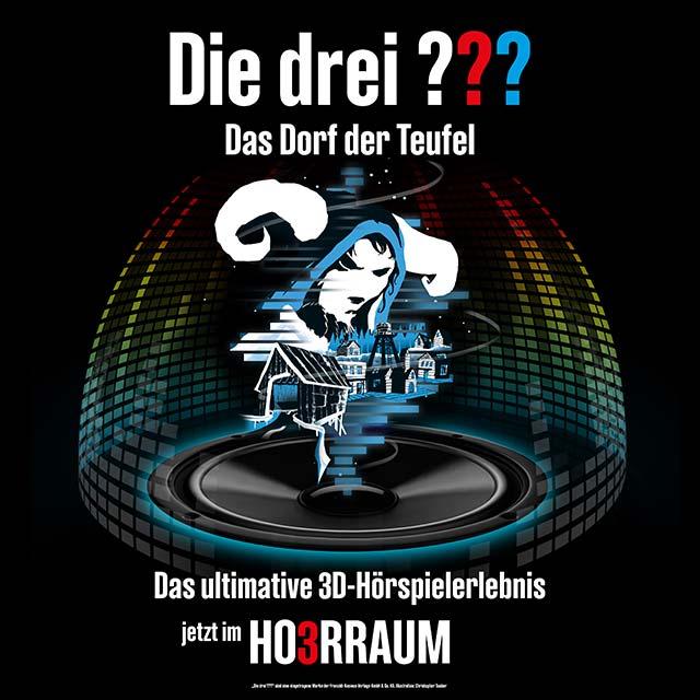 """Die drei ??? – Das Dorf der Teufel: Deutschlands beliebteste Detektive ermitteln wieder """"3D"""" im Planetarium"""