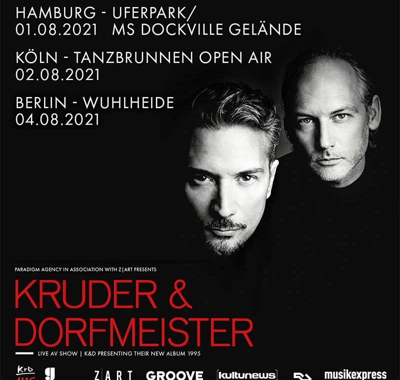Kruder & Dorfmeister im Sommer in Hamburg 2021