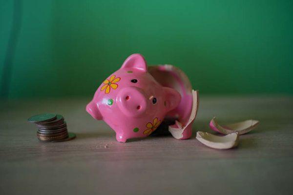 Dein Sparschwein und die finanzielle Schieflage