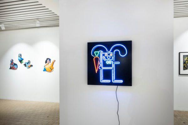 Knotenpunkt Ausstellung in der Affenfaust Galerie