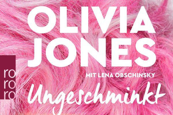 Buchcover. Ungeschminkt von Olivia Jones
