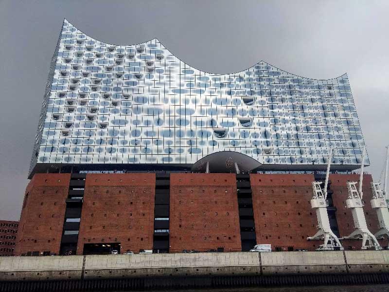 Ebphilharmonie und das Harbour Front Sounds