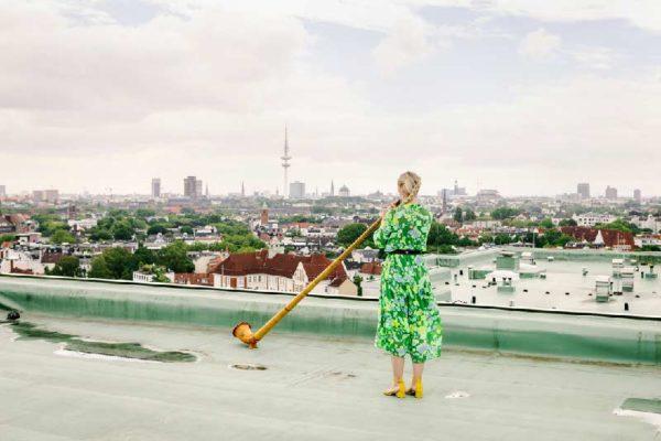 »Himmel über Hamburg« Dachkonzert