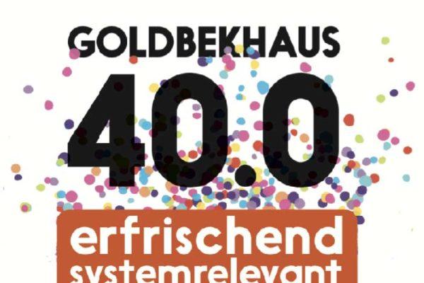 40 Jahre Goldbekhaus