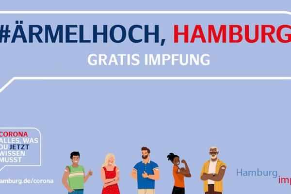 #ÄrmelHoch - Hamburg impft